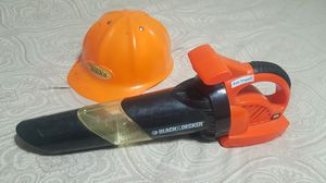 Kids leaf blower and hard hat for Sale in Gilbert, AZ