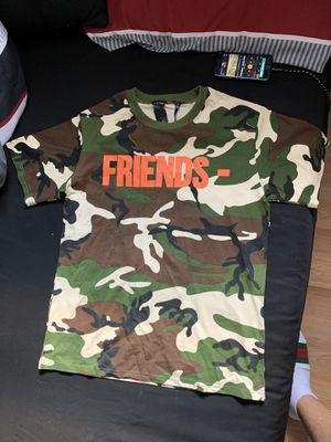 "Vlone ""Friends Camo"" T-Shirt for Sale in Pennsauken Township, NJ"