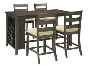 5 PC Counter Height Dining Set, #D397 for Sale in Santa Fe Springs, CA