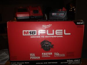 M18 fuel circular saw kit for Sale in Arlington Heights, IL