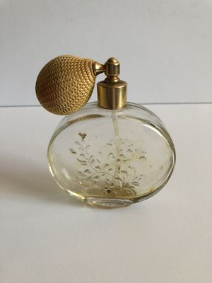 Vintage Antique Glass Gold Avon Moonwind Atomizer Perfume Bottle for Sale in Sun City, AZ