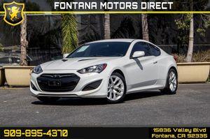 2013 Hyundai Genesis Coupe for Sale in Fontana, CA