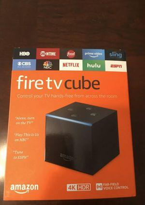 New Amazon C u b e / 4K / / google chrome cast / Wyze cam / ring doorbell for Sale in Oak Lawn, IL