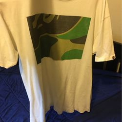 Very Rare Box Camo Bape Tee. for Sale in Ashland,  OR