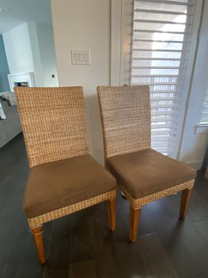 Two Imported Wicker Chairs for Sale in Flower Mound, TX