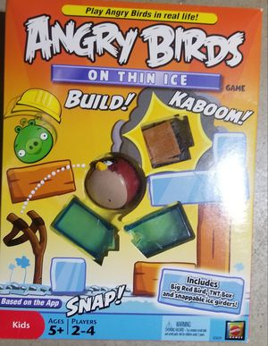 ANGRY BIRDS ON THIN ICE GAME *NEW for Sale in Phoenix, AZ