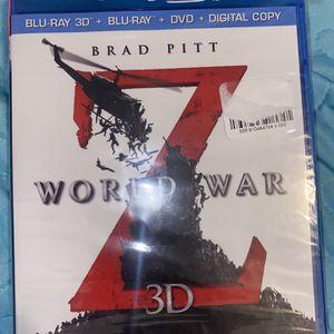 World War Z 3d for Sale in Redlands, CA