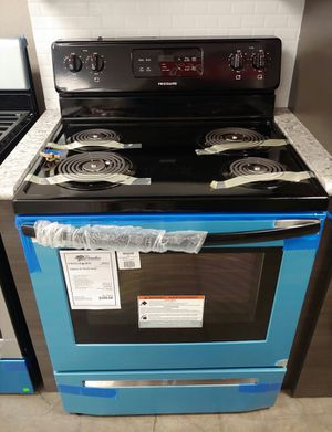NEW! Frigidaire Stainless Steel Electric Coil Top Range..1 Year Manufacturer Warranty for Sale in Gilbert, AZ