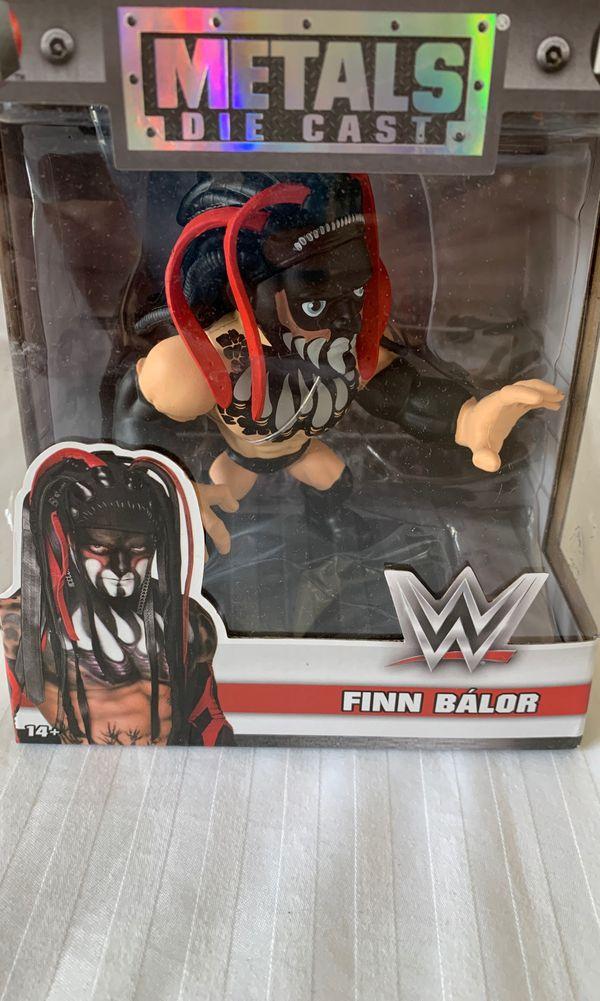 Finn Balor action figure by Die Cast Metals