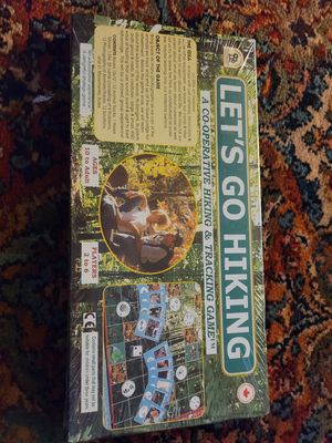 Let's go hiking co op game for Sale in Wimauma, FL