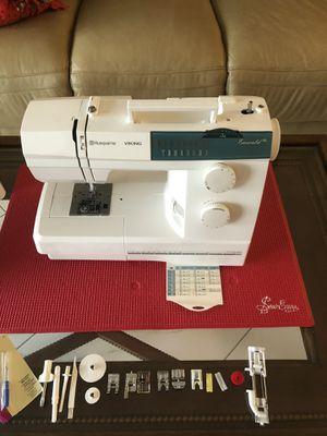 Like New Viking Husqavarna Emerald 116 Sewing Machine for Sale in Delray Beach, FL