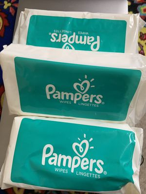 Pamper wipes for Sale in Jersey City, NJ