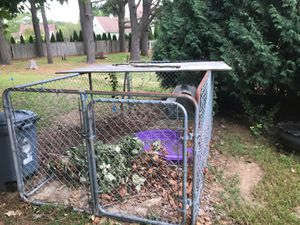 Dog kennel with pavers for Sale in Taunton, MA