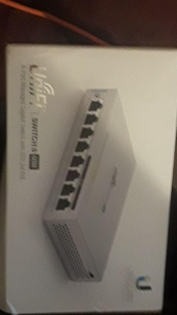 UNIFI/ SWITCH 8/ 60w 8- port managed gigabit