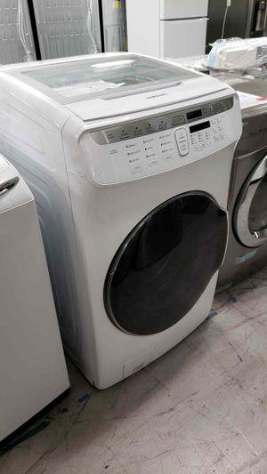 Samsung Washing Machine 5.5 Total cu. ft. High-Efficiency FlexWash Washer in White for Sale in Garden Grove, CA