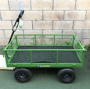 Brand new Gorilla 800 lb. Steel Utility Cart wagon for Sale in Temple City, CA