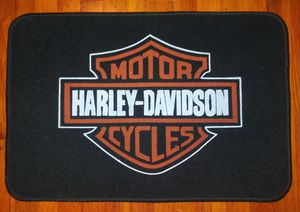 Harley Davidson Door Mat Rug New for Sale in Pulaski, TN