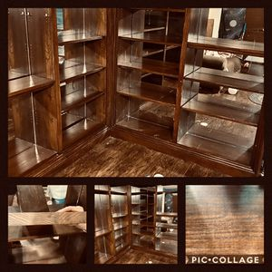 ***SUPER NICE*** corner shelving unit for Sale in Amarillo, TX