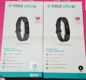 Brand New Fitbit Alta HR -Black color Large for Sale in Midvale, UT