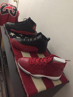 Retro Jordan 11-12 & 13 size 10.5 for Sale in New York, NY