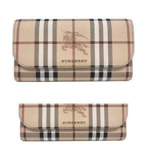New🆓Burberry Harris Haymarket Check Wallet with Coral -($350 💰) for Sale in Anaheim, CA