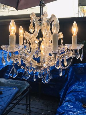 Crystal chandelier for Sale in Costa Mesa, CA