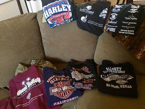 Harley Davidson/Motorcycle ride T-Shirts- XL for Sale in Mesa, AZ