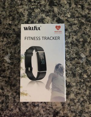 Willful Fitness Tracker IP68 Swimming Waterproof, Heart Rate Monitor Fitness Watch Sport Digital Watch with Color Screen Step Counter Sleep Tracker C for Sale in Sacramento, CA