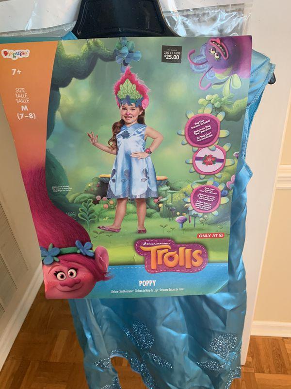Trolls costume (Poppy)