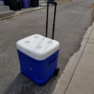 """Cooler - 64 quart roller """"Igloo"""" cooler for Sale in Denver, CO"""