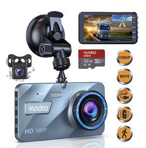 "Dual Dash Cam Car Camera,Full HD 1080P Dash Camera,4""IPS Screen Dual Wide Angle Lens Car Dash Camera,G-Sensor,Cycle Recording,Parking Monitoring. for Sale in Garden Grove, CA"