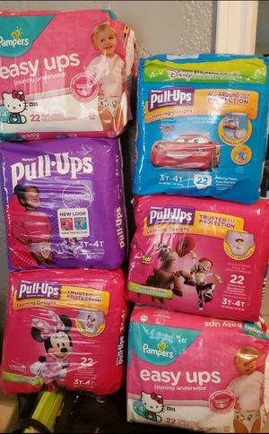 Huggies Pampers baby diapers for Sale in Houston, TX