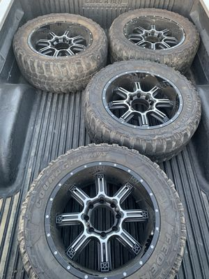 20x10 8x6.5 Chevy wheels for Sale in Suisun City, CA
