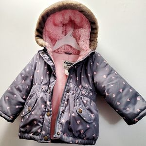 Baby Girl 12 Months Oshkosh Winter Jacket for Sale in Rocky Hill, CT
