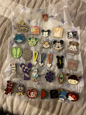 Disney Pins $3 each, all authentic for Sale in Pembroke Pines, FL