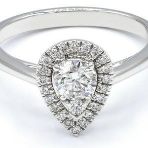U3619 PLATINUM DIAMOND ENGAGEMENT RING .79CT LADIES WEDDING BAND for Sale in Beverly Hills, CA