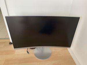 """Samsung widescreen curbed 27"""" monitor LC27f591Fdnxza for Sale in Miami, FL"""