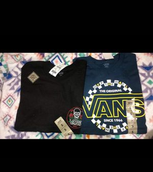 2 vans shirts for Sale in Nashville, TN