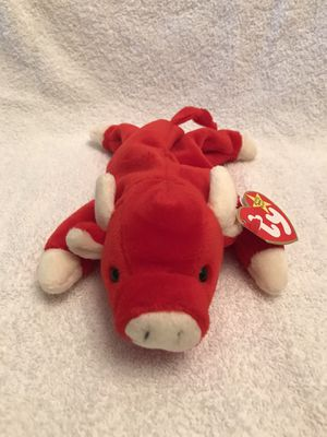 Snort Beanie Baby Retired 1995 for Sale in Wheaton, IL