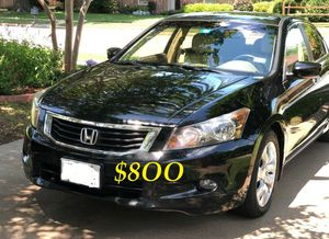 🔴📗URGENTLY 💲8OO FOR SALE 2OO9 Honda Accord Sedan EX-L V6 Clean title Runs and drives very smooth.📗🔴 for Sale in Fort Worth, TX