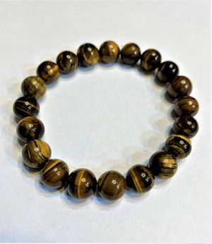 Tiger Eye Men's Bracelet perfect for gift for him for Sale in Peoria, IL