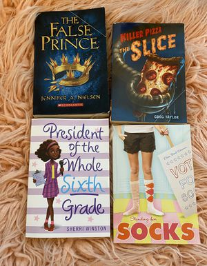 4 scholastic books for Sale in Overland Park, KS