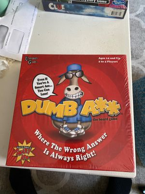 Dumb A**: The Board Game for Sale in Plymouth, MA