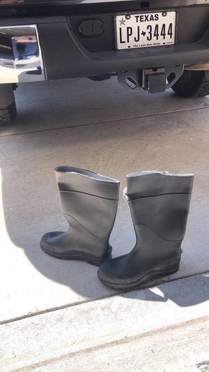 Black Rubber Rain boots for Sale in Chula Vista, CA