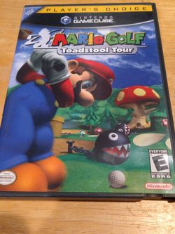 Nintendo Gamecube Game Mario Golf Toadstool Tour for Sale in Vancouver,  WA