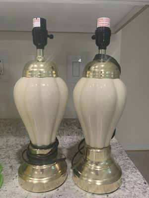 Lamps without shades for Sale in Stone Ridge, VA
