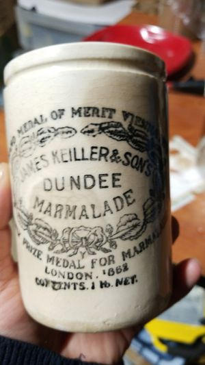 Antique 1868 marmalade jar made in England for Sale in Springfield, VA