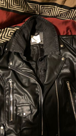Faux leather jacket for Sale in Sioux City, IA