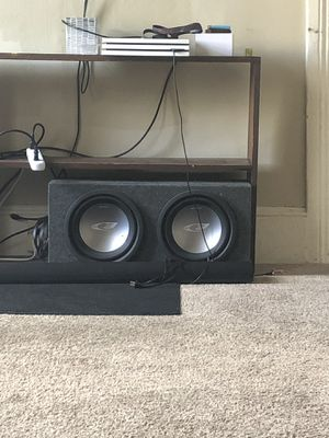 10 inch sub woofers for Sale in Williamsport, PA