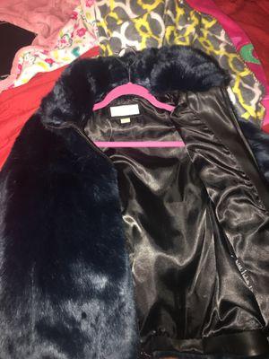 Michael kors blue fur coat for Sale in Washington, DC
